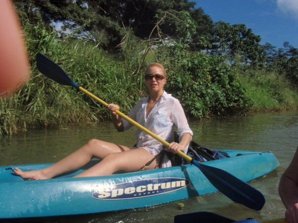 Kat Jolliffe, Kayaking in Hawaii, 2010